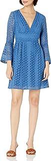 فستان كوكتيل دانتيل للسيدات من ML Monique Lhuillier