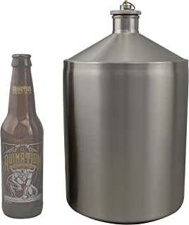 5 Liter Stainless Steel Small Batch Fermenter Carboy
