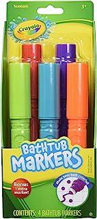 Crayola Bathtub Markers, Assorted Colors 4 ea