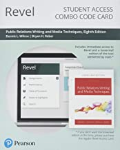 Revel for Public Relations Writing and Media Techniques -- Combo Access Card (8th Edition)
