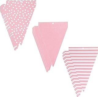 Darice 30030364 Paper Pad Banners, Pink