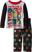 Justice League Boys' Baby-Infant Jersey Set
