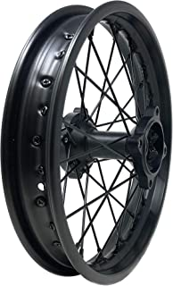 MYK Rim Wheel 1.85x14 inches for tires 90/100-14, Compatible with Tao Tao DB17 and many other models like Extreme, Roketa, SunL, JetMoto, Kazuma