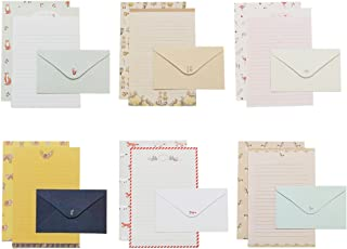 IMagicoo 48 Cute Lovely Writing Stationery Paper Letter Set with 24 Envelope/Envelope Seal Sticker (7)
