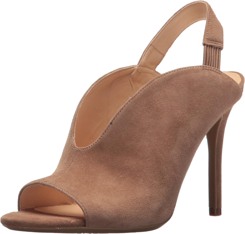 Nine West Women's MOORE9X9 Suede Heeled Sandal