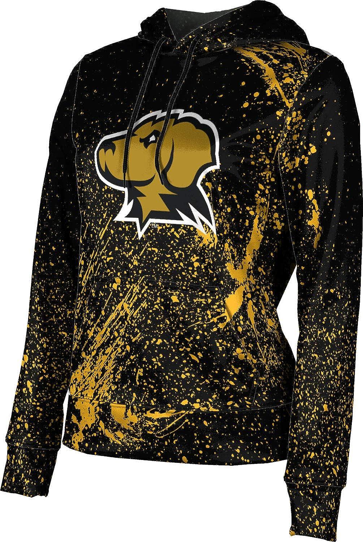ProSphere University of Maryland Baltimore County Girls' Pullover Hoodie, School Spirit Sweatshirt (Splatter)
