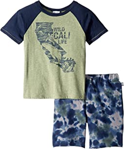 Cali Life Tee Set (Toddler/Little Kids/Big Kids)