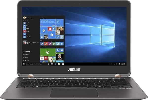Asus Zenbook Flip UX360UA-C4154T 33 7 cm  13 3 Zoll Full HD  Touch  Laptop  Intel Core i5-6200U  8GB Arbeitsspeicher  256GB Festplatte  HD Graphics  Win 10  grau