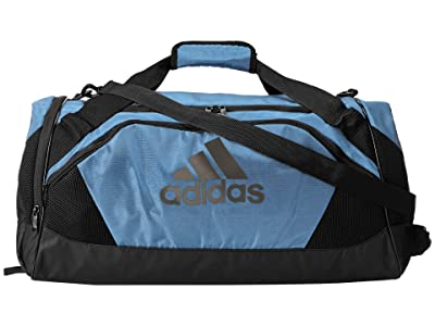 adidas Team Issue II Medium Duffel (Collegiate Light Blue) Duffel Bags