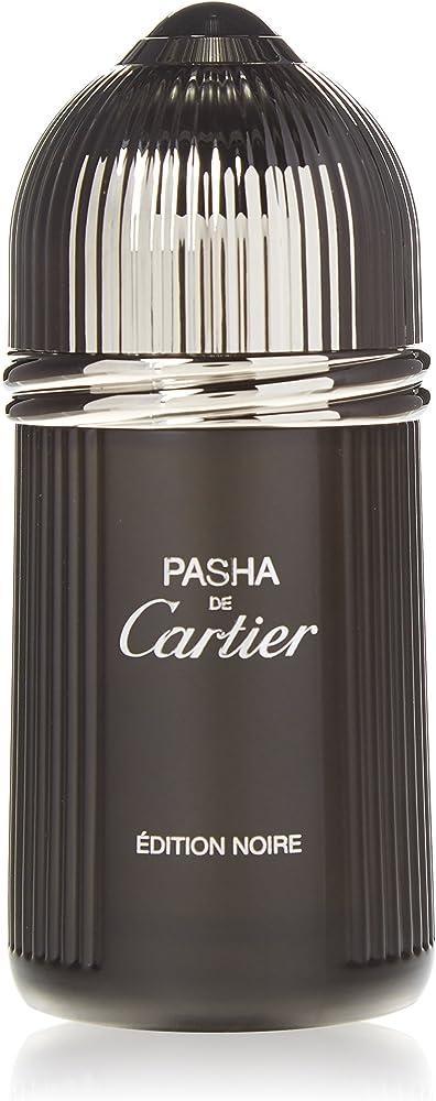 Cartier pasha de cartier edition noire eau de toilette per uomo, 50 ml 3432240500526