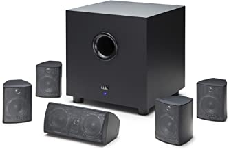 ELAC Cinema 5 Home Theater 5.1 Channel Speaker System (HT-C131W-K)