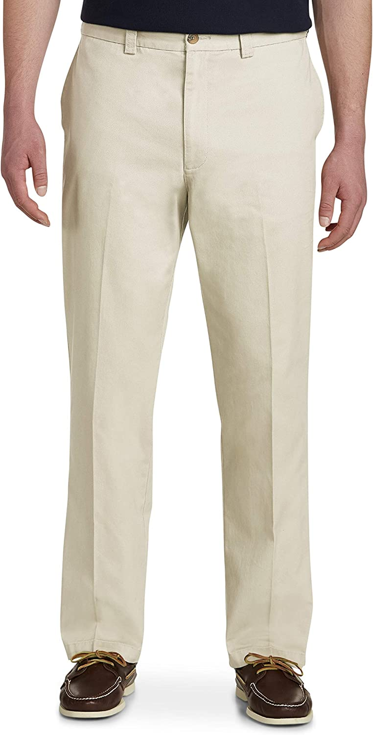 Harbor Bay by DXL Big and Tall Waist-Relaxer Pants