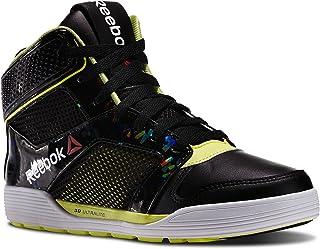 e68fd0b14d87 Reebok Unisex Lm Dance Urtempo Mid Dance Shoes Black High Vis Green White  Mens