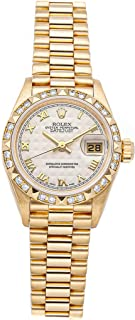 Datejust Mechanical (Automatic) Ivory Dial Womens Watch 69258 (Certified Pre-Owned)