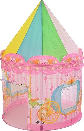 ottostyle.jp Kinder spielen Zelt Rosa (merry-go-round   Schlitten-Muster) 140cm   in der H  (ca.) Durchmesser 10cm   x (Japan Import   Das Paket und das Handbuch werden in Japanisch)