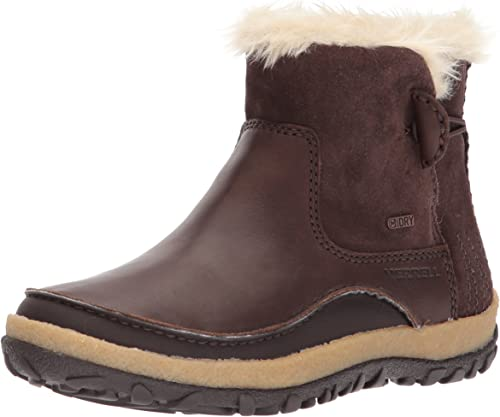 Merrell Damen Tremblant Pull On Polar Waterproof Kurzschaft Stiefel, braun