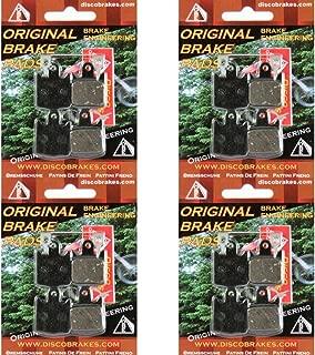 4Pairs of Kevlar Hope M4 Disc Brake Pads (16 Pads+4Springs) DH Enduro 4 MTB Bike
