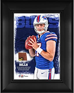 Josh Allen Buffalo Bills Framed 5