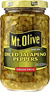 Mt Olive Pickle Co Mt Olive Diced Jalapeno Pepper, 12 oz