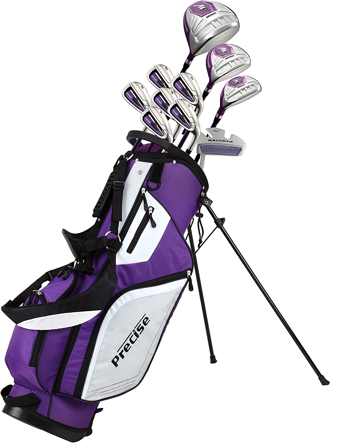 Precise excellence M5 Ladies Womens Popular standard Complete Right In Golf Handed Set Clubs
