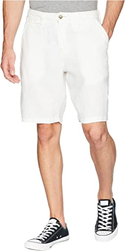 Sunset Linen Drawstring Chino Shorts