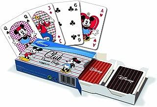 Modiano Ramino Club Rummy Bridge Mickey Mouse Disney Set 2 Decks Playing Cards