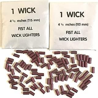 Lighter FLints 100 pcs and 2 Wicks Big Spark TM Petrol Replacement