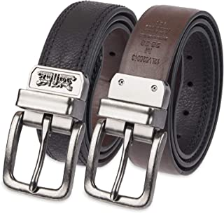 Boys Big Kids Belt - School Casual for Jeans Classic Strap and Single Prong Buckle