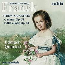 Eduard Franck: String Quartets, Opp. 54 & 55