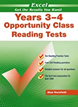 Excel Opportunity Class English Tests Years 3-4