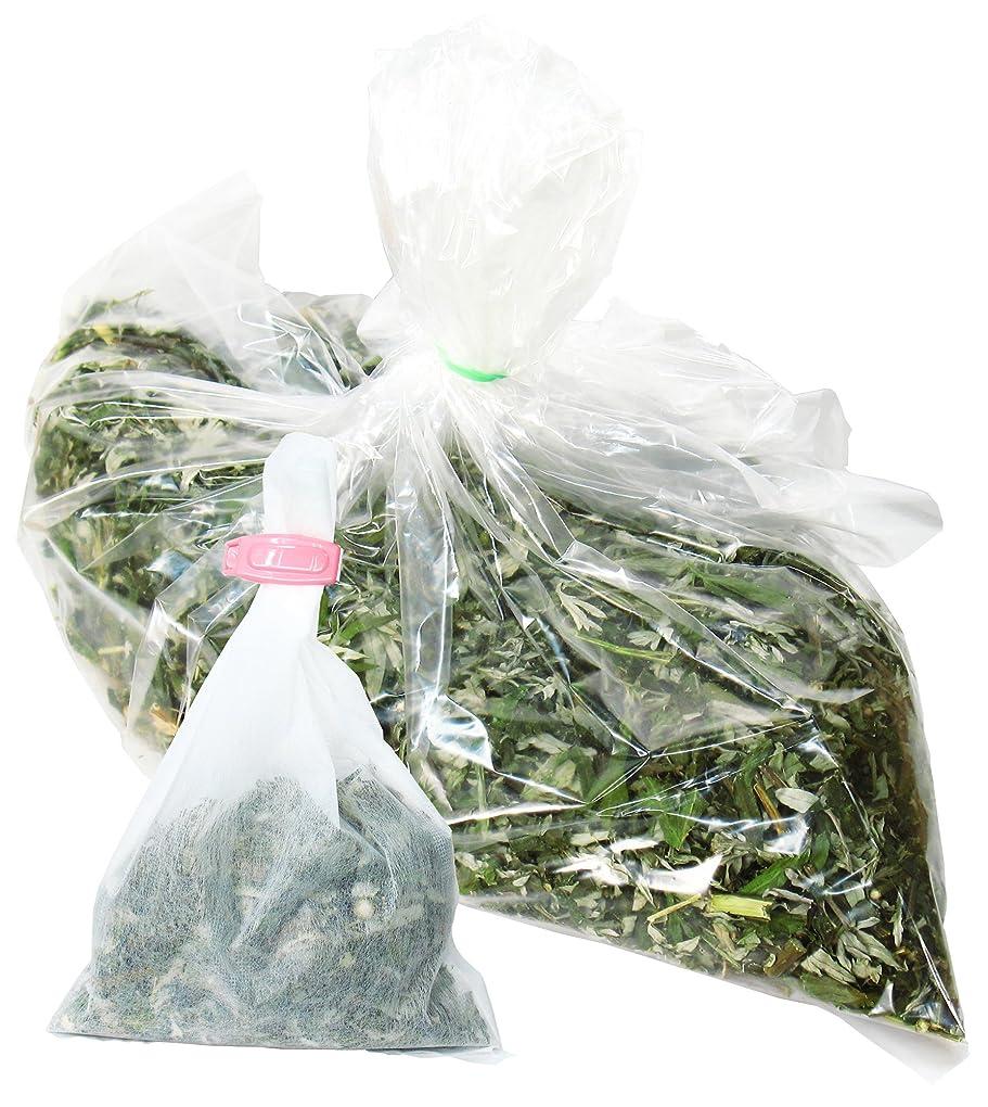 殺人勢い実用的自然健康社 よもぎ蒸しのよもぎ 250g 乾燥刻み 煮出し袋10枚付