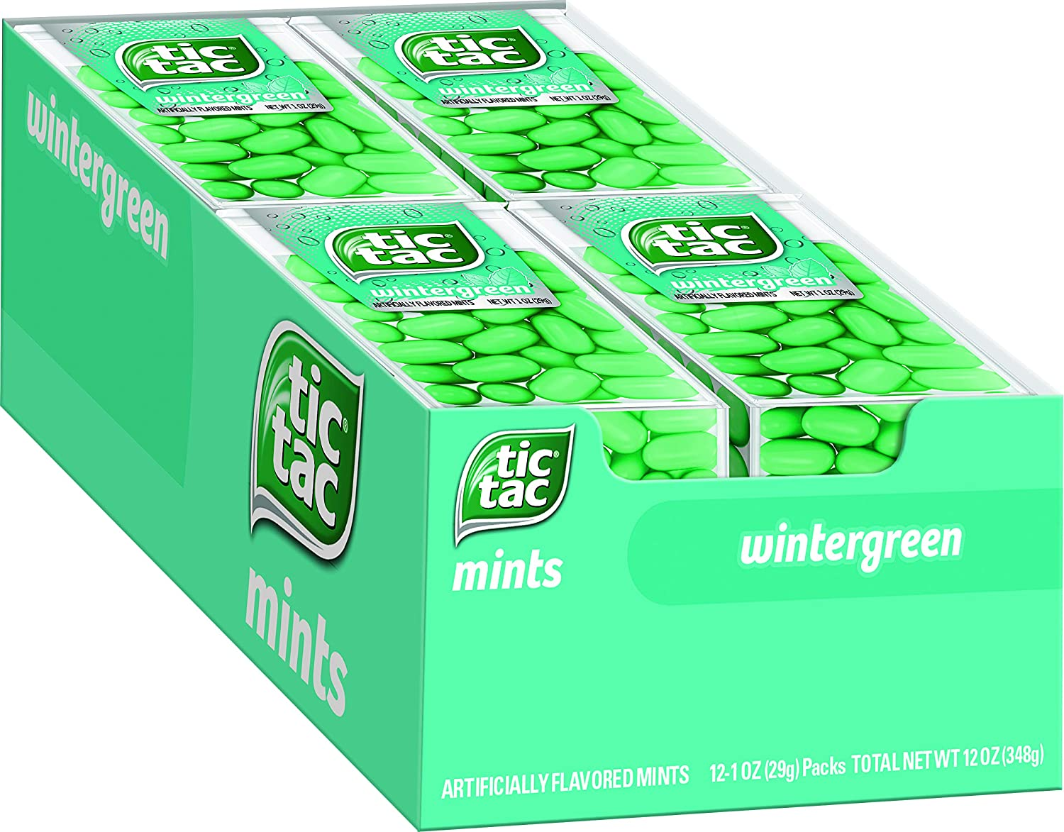 Tic Max 40% OFF Tac Fresh Breath Mints Candy Wintergreen Hard Recommended Bulk