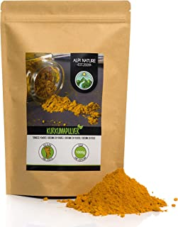Gurkmeja pulver (1kg), Curcuma 100% naturligt, försiktigt torkat och slipat gurkmeja rot, inga tillsatser, Vegan