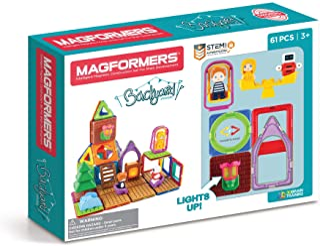 Magformers Backyard Adventure 61Pc, Magnet Building Block STEM Kids Toy, Award-Winning Educational Magnetic Tiles for Chil...