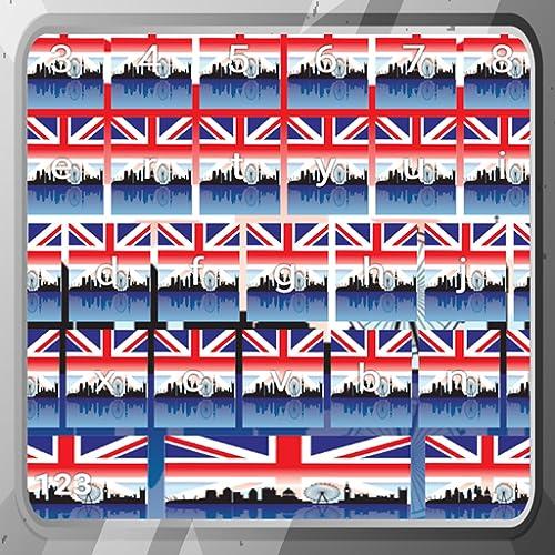 Britische Tastaturen