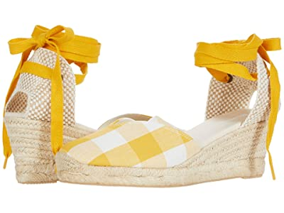 Soludos Lyon Wedge (Marigold) Women
