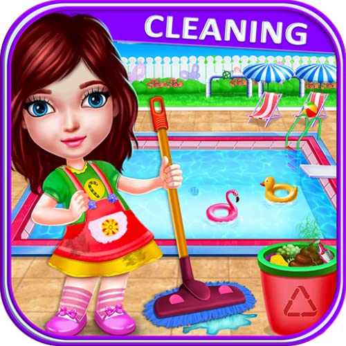 Doll House Cleaning And Decoration Games
