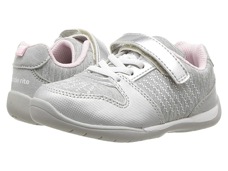 Stride Rite Made2Play(r) Avery (Toddler/Little Kid) (Silver) Girl