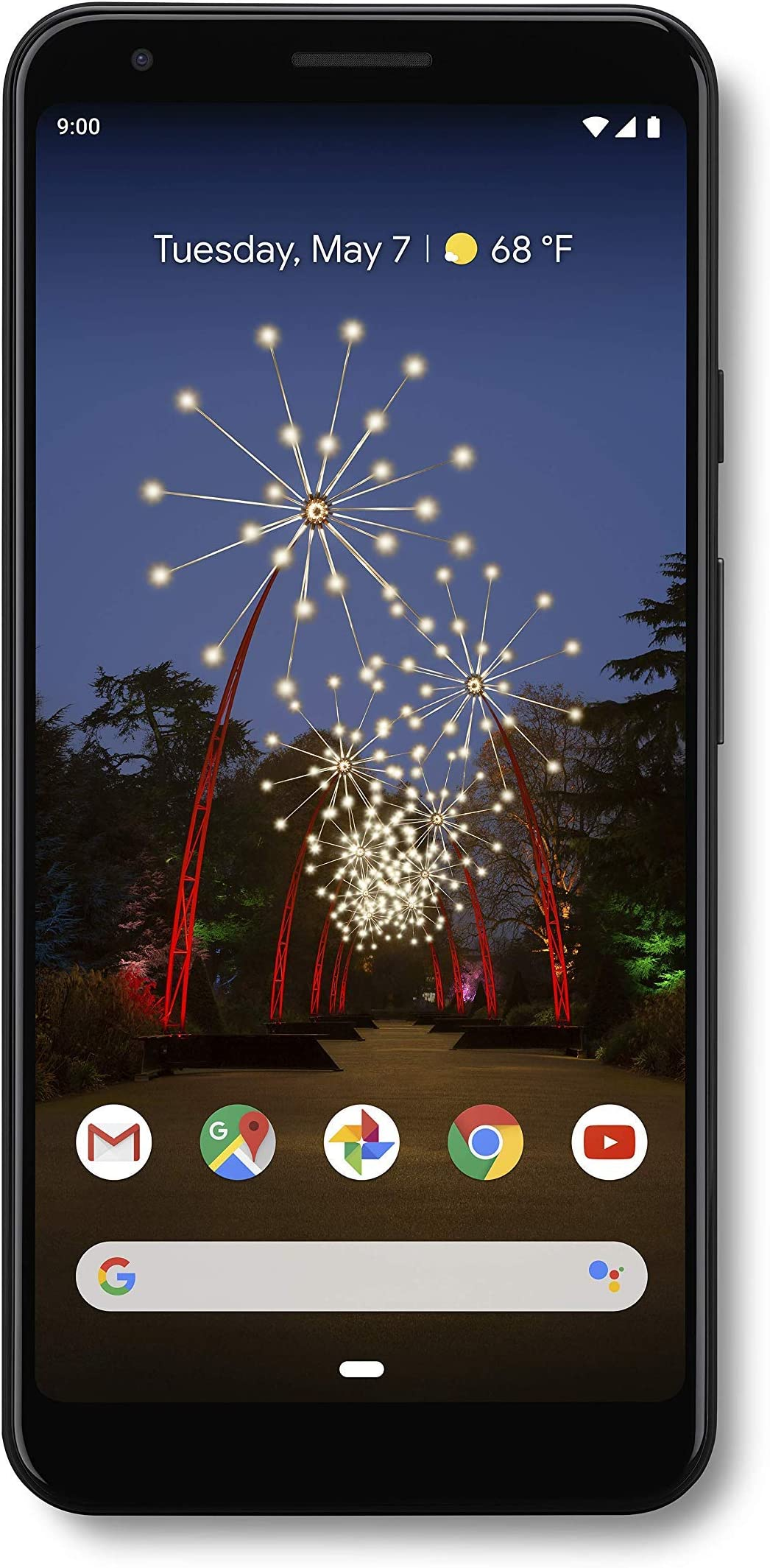 Google - Pixel 3a X-Large with 64GB Memory Cell Phone (Unlocked) - Just Black (G020C)