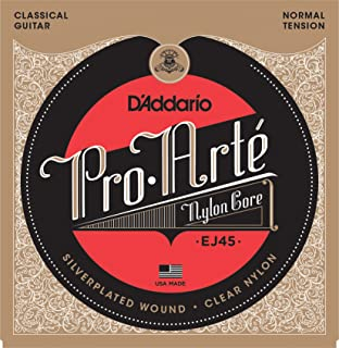 D'Addario Pro-Arte Nylon Classical Guitar Strings, Normal Tension (EJ45)