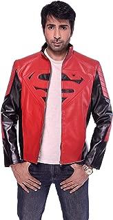 Superman Smallville Clark Kent Men Leather Jacket