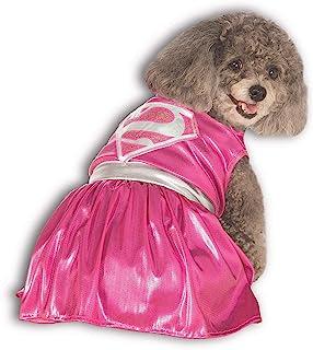 DC Comics Pet Costume, X-Large, Pink Supergirl