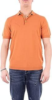 HERITAGE Luxury Fashion Mens 0143P2ZARANCIONE Orange Polo Shirt | Season Outlet