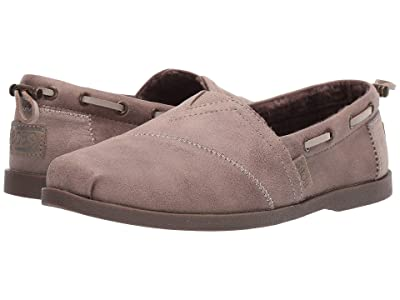 BOBS from SKECHERS Chill Luxe Buttoned Up (Taupe) Women
