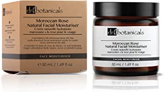 Dr Botanicals Vegan Moroccan Rose Natural Facial Moisturizer - Best Anti-ageing Treatment to Remove Wrinkles and Fine Line...