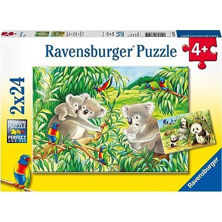 Ravensburger - Puzzle 2 x 24 Piezas, diseño los Animales del ...