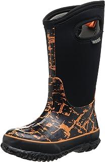 Bogs Kids' Classic High Waterproof Insulated Rubber Neoprene Rain Boot