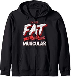 i'm not fat im thick hoodie