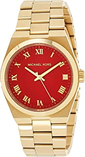 Michael Kors Runway Watch for Women - Analog Stainless Steel Band - MK5936