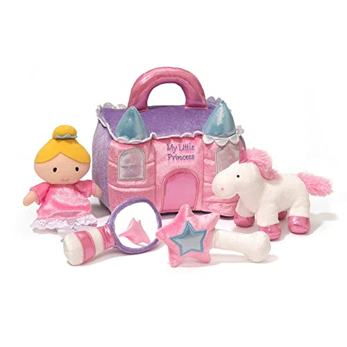 Baby GUND Princess Castle Stuffed Plush Playset 8